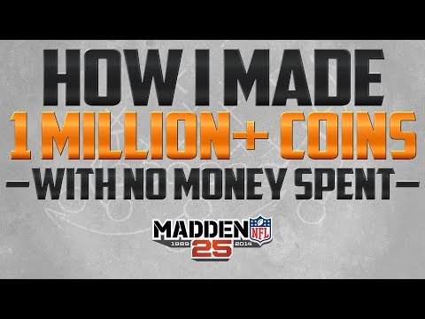 Madden 25 Ultimate Team | How I Made 1 Million Coins Without Spending Money | MUT 25