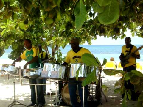 Steel Drum Band Jamaica Youtube