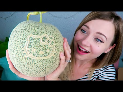 $50 MELONS!? GROCERY SHOPPING in Japan! | How to Save Money