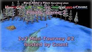 Count's 2v2 Mini-Tourney #2, F - HerroOP+g0ld_lion vs. matreiuss+Count, G2 - Age of Mythology: TT