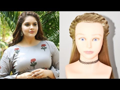 Easy front hairstyle for open hair | Trendy hairstyle | easy hairstyles | front hairstyle