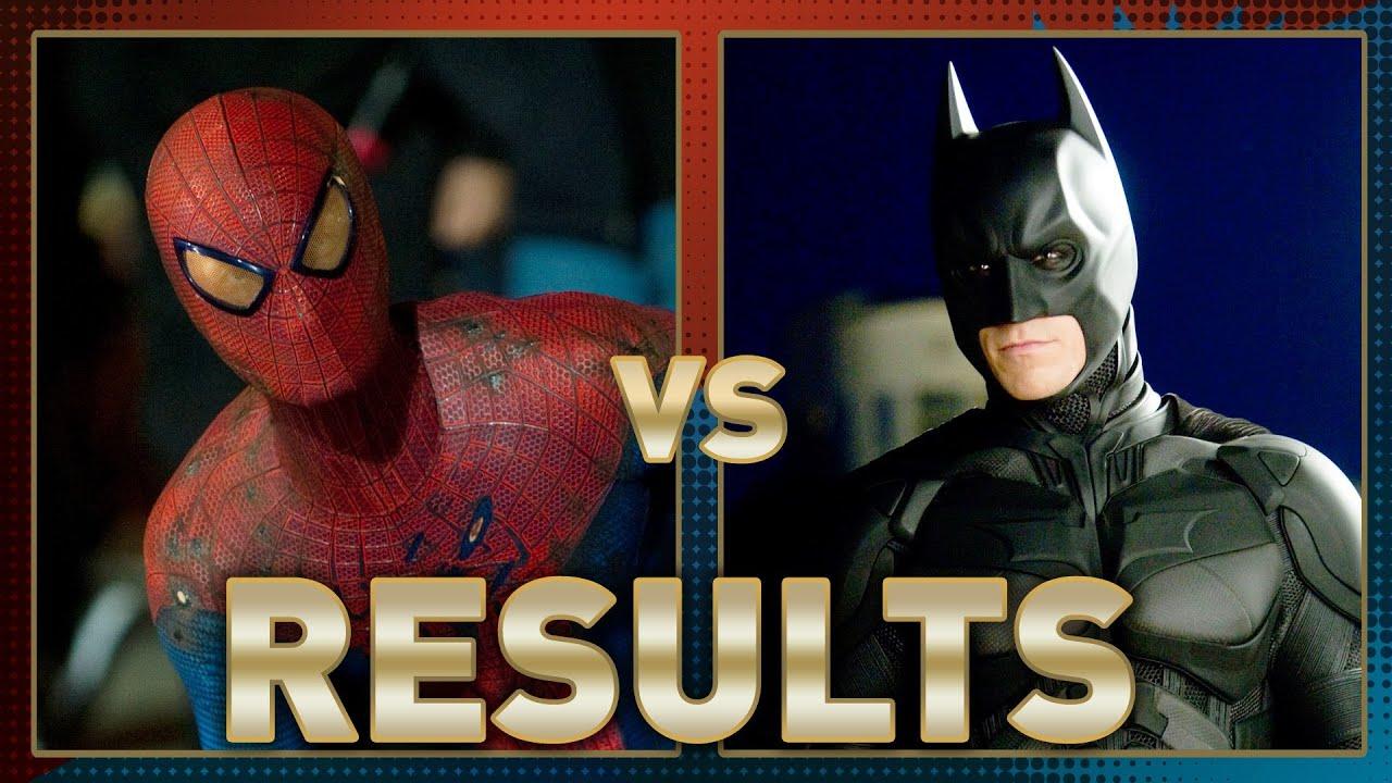 spiderman vs batman fanboy faceoff results youtube