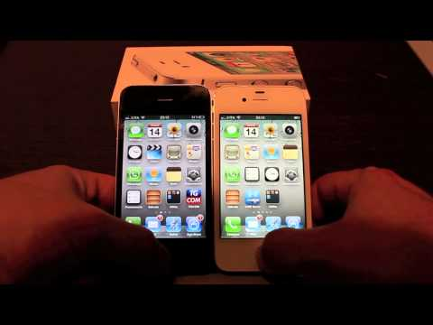 Recensione Review  iPhone 4S. confronto con iPhone 4 e prova Siri by iPhoneItalia