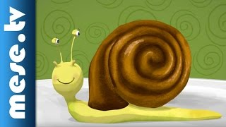 Lackfi János: Kakaóscsiga (mese, rajzfilm, gyerekdal)