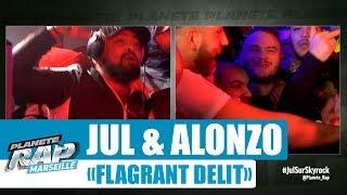 """[Exclu] Jul & Alonzo """"Flagrant délit"""" #PlanèteRap"""