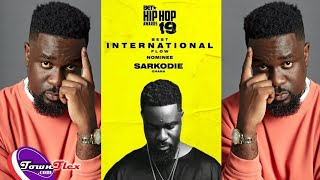Sarkodie Grabs Nomination For Best International Flow At BET Hip Hop Awards 2019