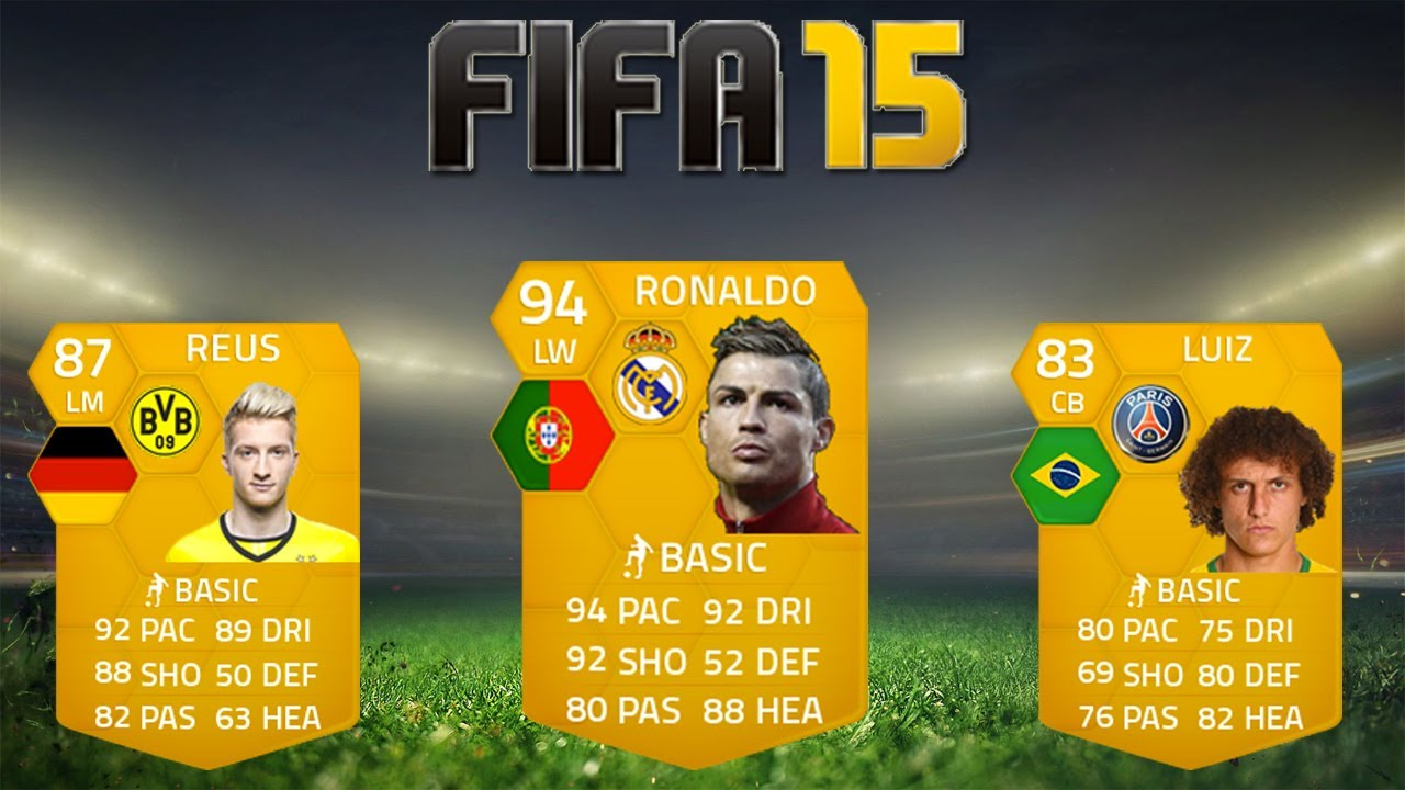 Fifa 15 player potential ratings youtube