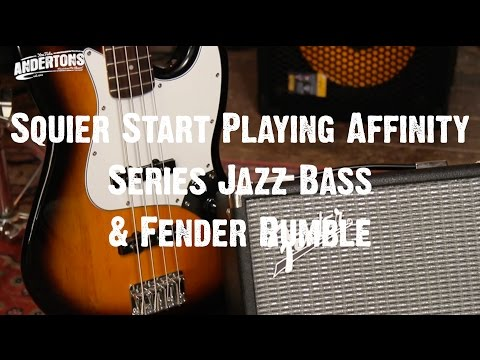 All About The Bass  - Squier Starter Bass Pack Review