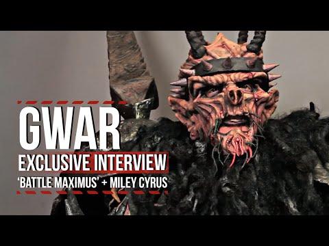 GWAR's Oderus Urungus on 'Battle Maximus,' Miley...