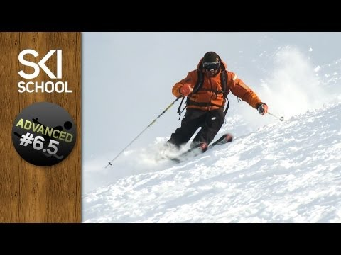 How To Ski Crud / Tracked Powder - Advanced Ski Lesson #6.5