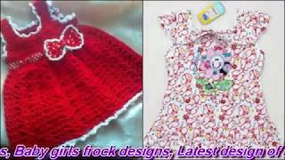 Latest Frock Designs - Baby Frock - Frock Designs For Kids - Cotton Frocks -  Baby Dress