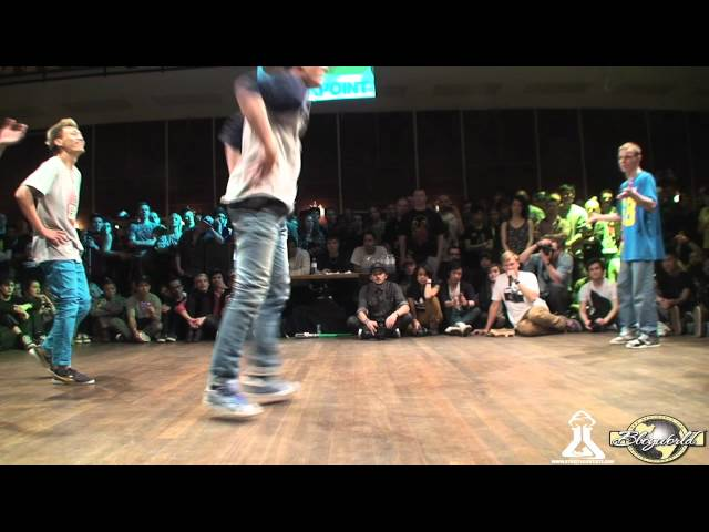 SINE CREW vs TATANAKA (FLOOR WARS 2012) WWW.BBOYWORLD.COM