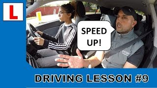 """I Had To Drive Faster"" 