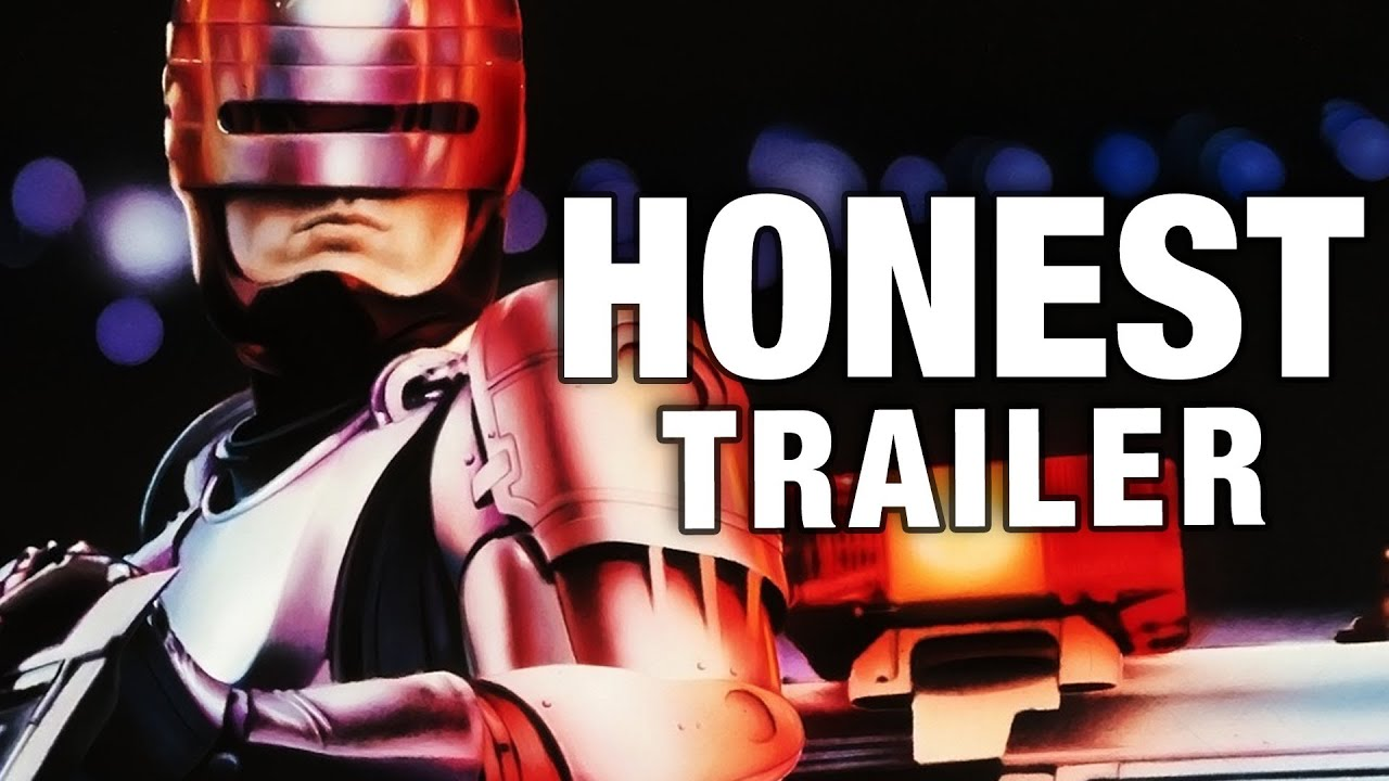 El honesto trailer de Robocop