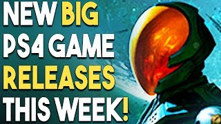 8 NEW BIG PS4 Game Releases THIS WEEK! NEW RPG, AWESOME Collection AND MORE!