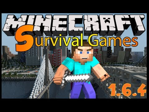 ★ Minecraft HUNGER GAMES 1.6.4 Server Fun !!! /w EGCNetwork ★ Survival Games Server 1.6.4 ★