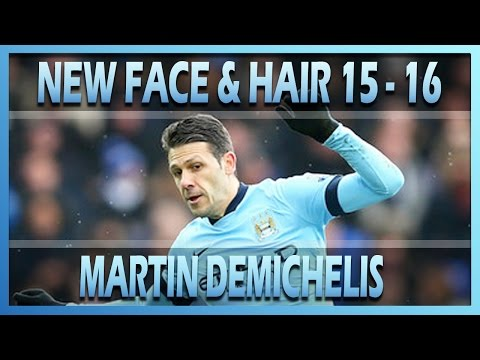 PES 2013 l NEW FACE & HAIR MARTIN DEMICHELIS 2015/2016