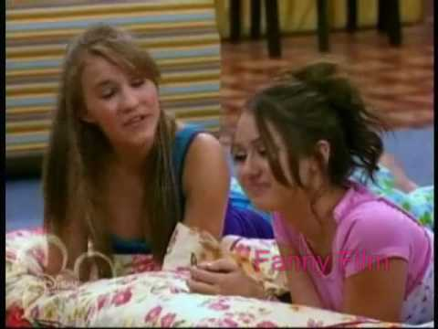 Miley Cyrus And Emily Osment To true Friend By Hannah Montana video