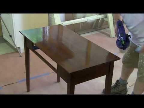 apply stain like a pro truecoat pro fine finish sprayer wood staining