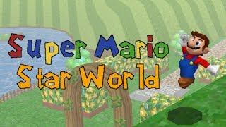 The Huge New Hub in Super Mario Star World!