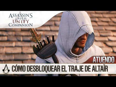 Assassin's Creed Unity   Guía   Cómo desbloquear el Atuendo / Traje Altaïr (Unlock Altaïr Outfit)