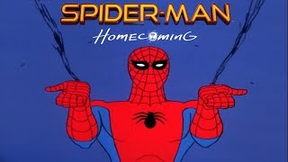 1967 Spider-Man Intro with 2017 Homecoming Remix Theme