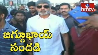 Hero Jagapathi Babu Walk On Vizag Beach | hmtv