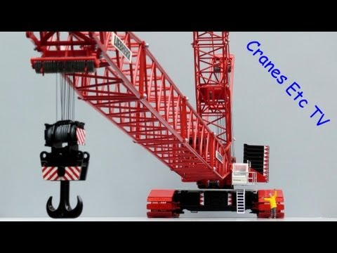 Cranes Etc TV: Conrad Liebherr LR 1750 Crawler Crane 'Wagenborg' Review Part 1 of 2