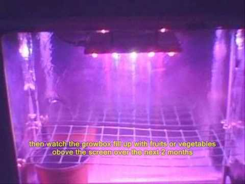 NIN Ft. Medicinal Cultivation 90 watt LED Grow Light