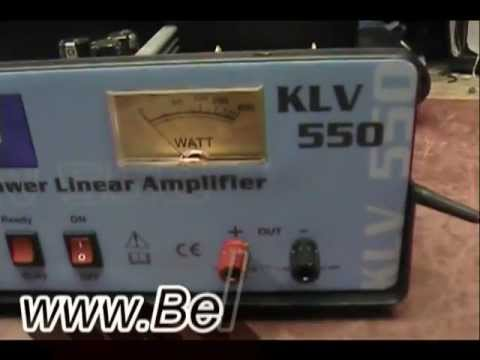 RM KLV-550 Base Amplifier Repair Report
