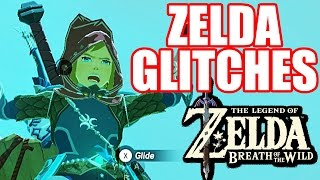 10 GLITCHES and EXPLOITS In Zelda Breath of the Wild [Nintendo Switch/Nintendo Wii U]