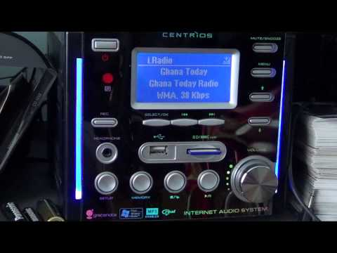 Ghana Radio on Centrios internet radio