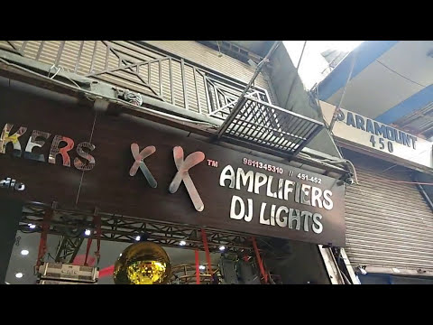 DJ Market With Prices, Delhi Bhagirath Palace [Hindi/Urdu] by Delhi Vlogs