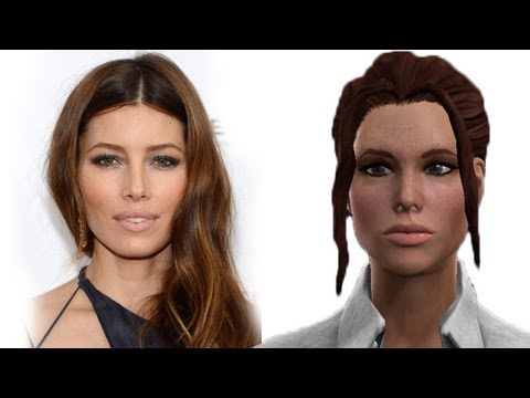 JESSICA BIEL Saints Row 3