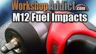 "Milwaukee M12 Fuel 1/4"" and 3/8"" Impact Wrenches"