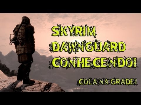 DAWNGUARD PC / 1 Quest/ Correndo.O Junto com os Vampiros