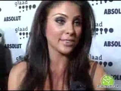 Nadia Bjorlin Red Carpet Interview Video