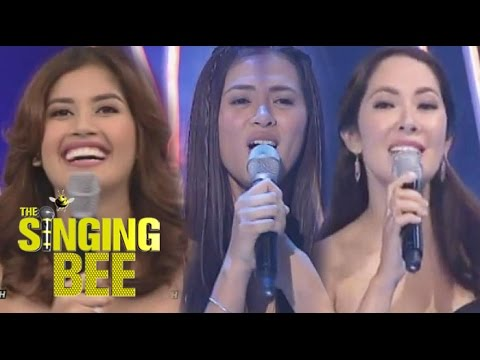 Beauty Queens Ruffa, Precious and Shamcey on Singing Bee