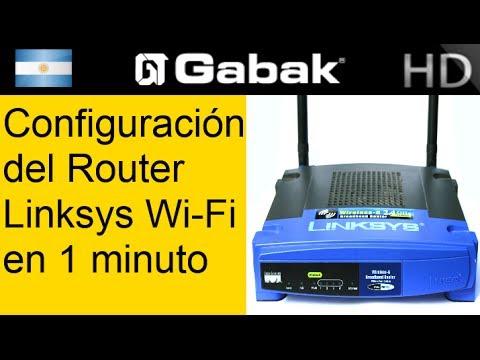 como configurar router linksys wifi en 1 minuto (wireless)