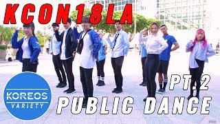 Download Lagu [KPOP IN PUBLIC] KCON18LA Public Dance Set 2 - Shine + Love U + Clap Gratis STAFABAND
