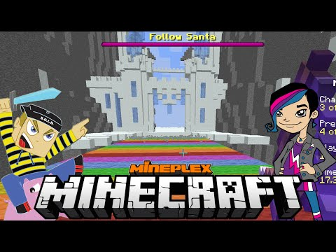Minecraft - Christmas Chaos Mini Games with Gamer Chad Alan on the Mineplex