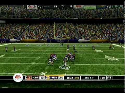 Madden '10 Predictions - Week 14 Minnesota Vikings vs The Cincinnati Bengals - The Viking Ship
