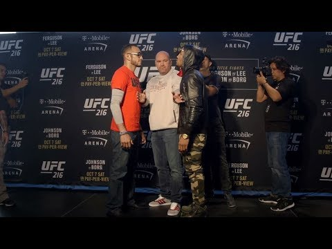 UFC 216: Media Day Faceoffs
