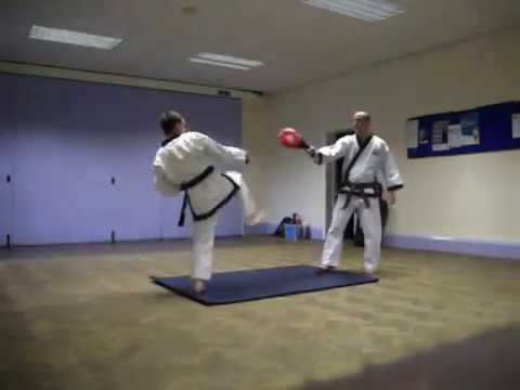 Soo Bahk Do / Tang Soo Do Kicking Drills