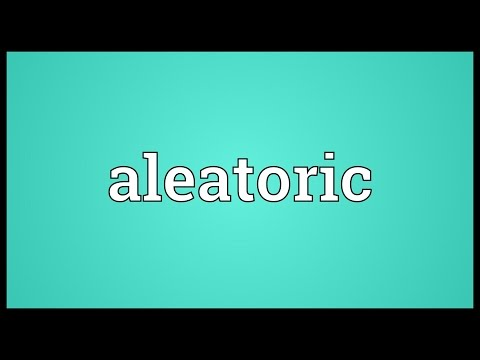 Header of aleatoric