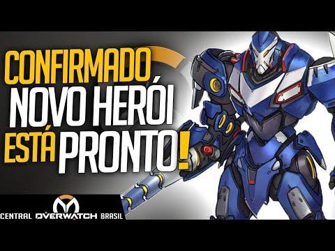 OVERWATCH - CONFIRMADO NOVO HERÓI JÁ ESTÁ PRONTO E SENDO JOGADO! - Central Overwatch Brasil