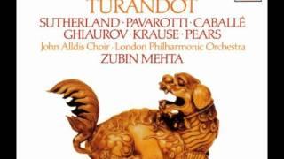 Zubin Mehta Turandot Nessun Dorma