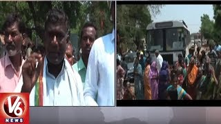Dharmaram Villagers Protest, Demands Not To Merge In Jammikunta Municipality