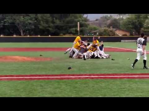 VU Baseball post game rushing of the field