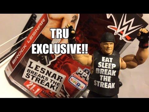 WWE ACTION INSIDER: Brock Lesnar Toys
